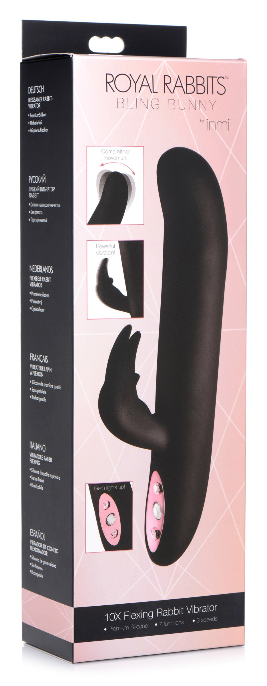 Bling Bunny 10x Flexing Silicone Rabbit Vibrator