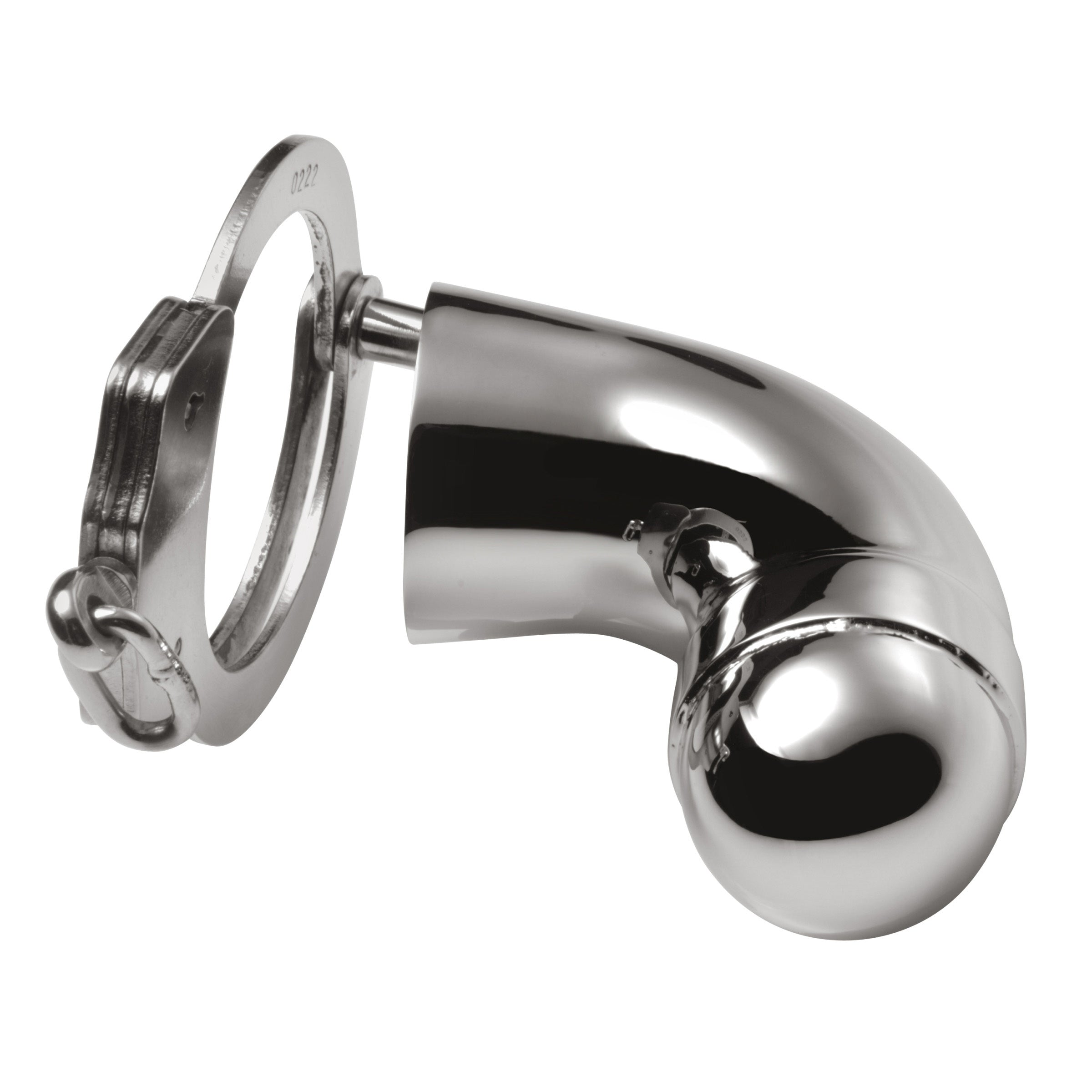 Stainless Steel Chastity Cock Cuff