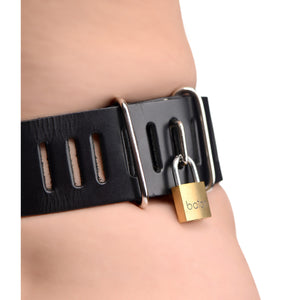 Strict Leather Female Chastity Belt