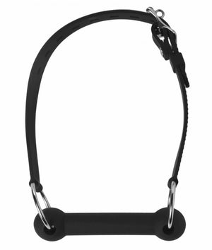 Mr. Ed Lockable Silicone Horse Bit Gag