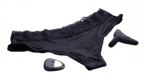 Pulsating Panty 10X Remote Control Cheeky Style Vibrating Panty