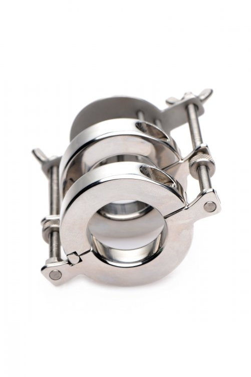 Stainless Steel Spiked CBT Ball Stretcher and Crusher