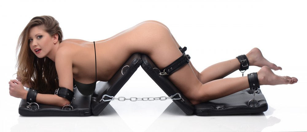 XL Bondage Board/with 7 Piece Restraint System