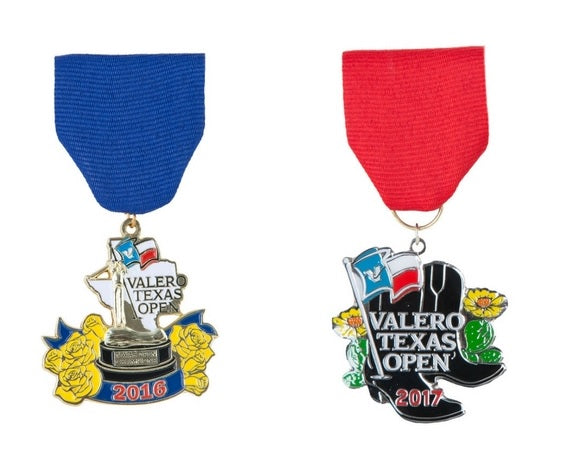 Valero Texas Open 2016 & 2017 Fiesta Medal Two-Pack