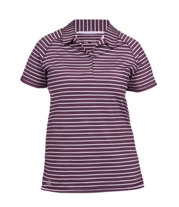 Women's Adidas Double Stripe Polo