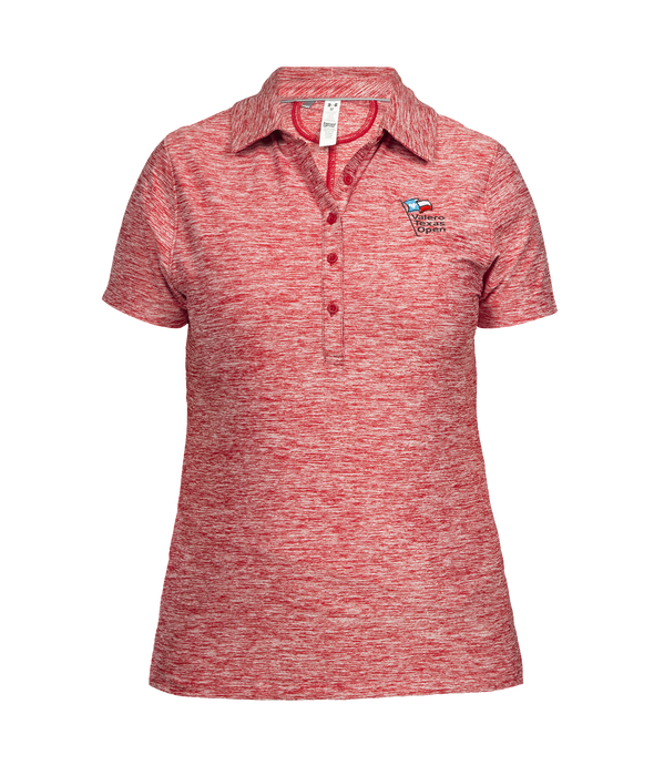 Women's Under Armour Zinger Heather Polo