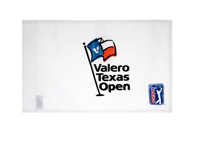 Valero Texas Open Pin Flag