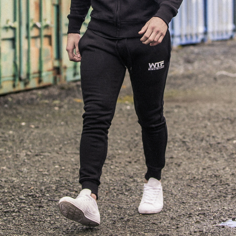 TRACKSUIT BOTTOMS | BLACK