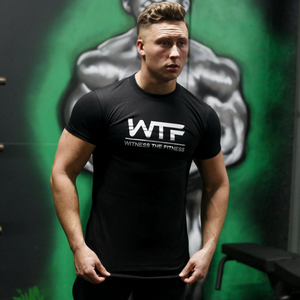 LONGLINE GYM TSHIRT | BLACK