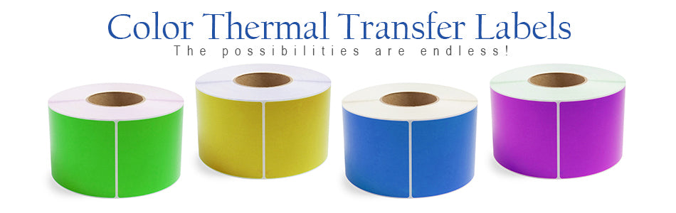 Color Thermal Transfer Labels