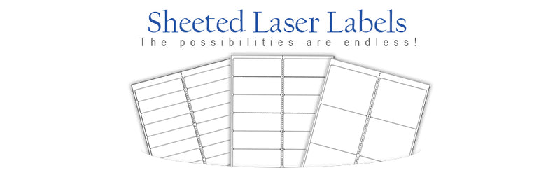Sheeted Laser Labels