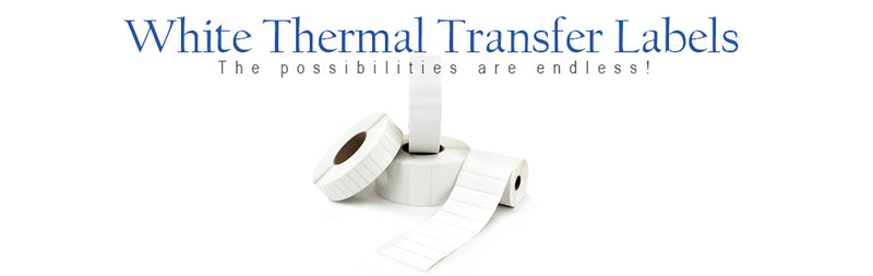 White Thermal Transfer Labels