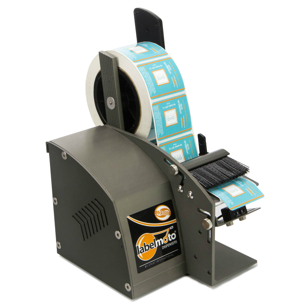 LD3000FDA Electric Label Dispenser with USDA/FDA Compliant Coating