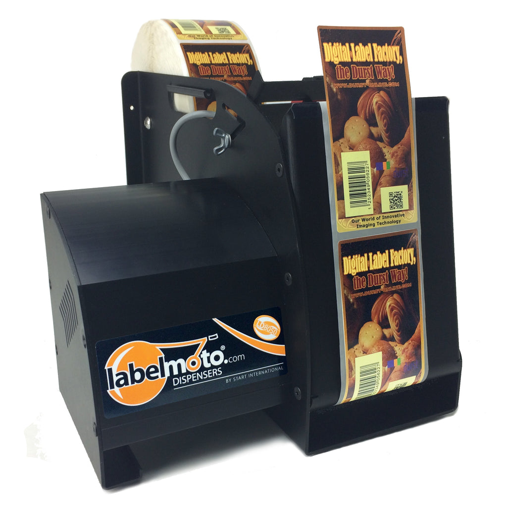 "LD8050 LabelMoto Electric Label Dispenser for up to 5"" wide, 12"" long labels"