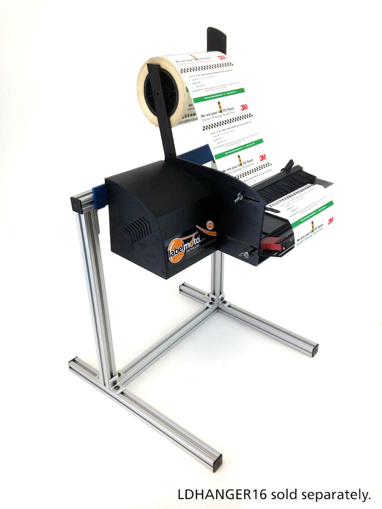 "LDX6050 LabelMoto Electric Label Dispenser for up to 7"" wide labels"