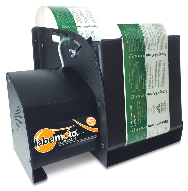 "LDX8100 Super-Speed Electric Label Dispenser for up to 8"" wide, 12"" long labels"