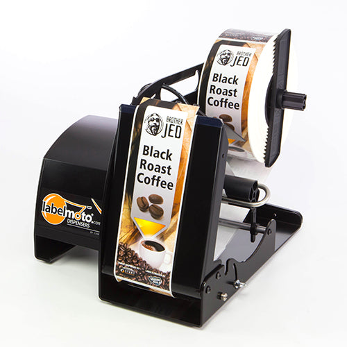 LabelMoto-LD8050-Dispenser-Side-View