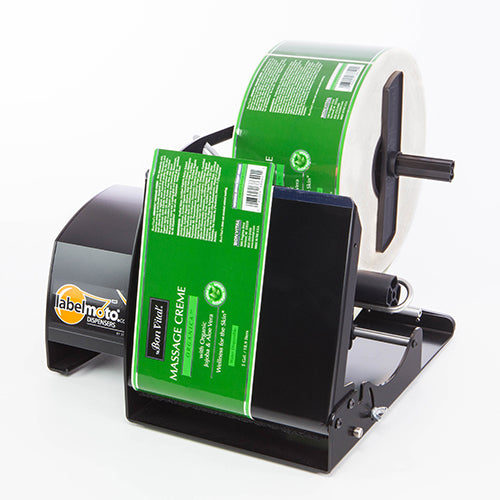 LabelMoto-LDX8100-Electric-Label-Dispenser-side