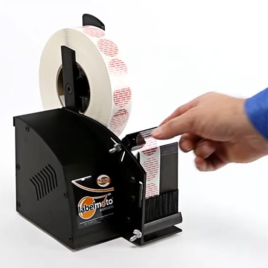 "LD3500 Electric Clear / Wafer Seal Label Dispenser for Up to 2.25"" Wide Labels"