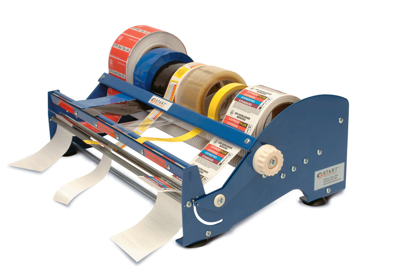 "SL9518 Multi Roll Label and Tape Dispenser, 18"" Wide"