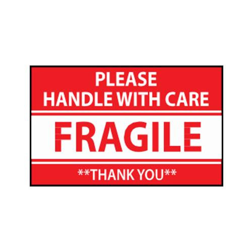 Handle With Care / Fragile Sticker