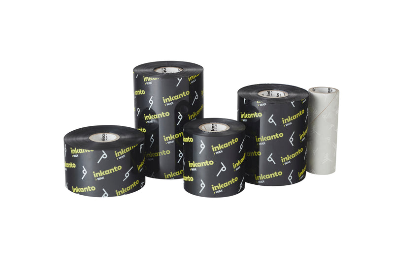 "2.17"" X 502 FT (153M) Armor Inkanto AWR 8 Wax Ribbons (Outside Ink), 12 Pack/Box"