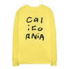 California Collage Yellow Long Sleeve Shirt