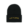 California Black Beanie