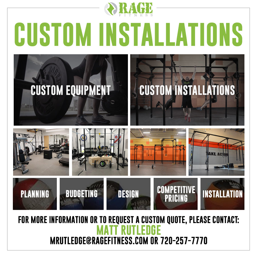 RAGE Fitness Custom Installations