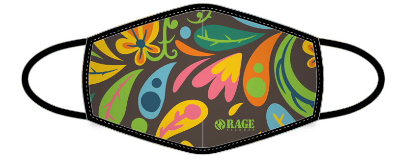 Printed Face Masks - Nature Collection - RAGE Fitness