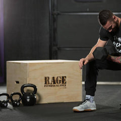 3 in 1 Wood Plyo Box - RAGE Fitness