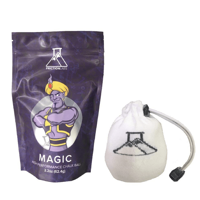 FrictionLabs Magic Reusable Chalk Sphere - 2.2oz - RAGE Fitness