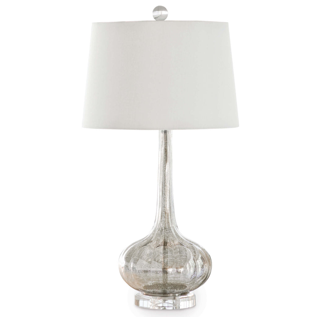 Milano Table Lamp (Antique Mercury)