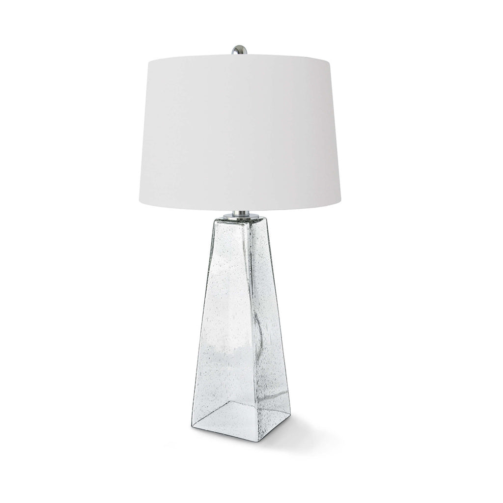 Glass Table Lamp (Ice Cube)