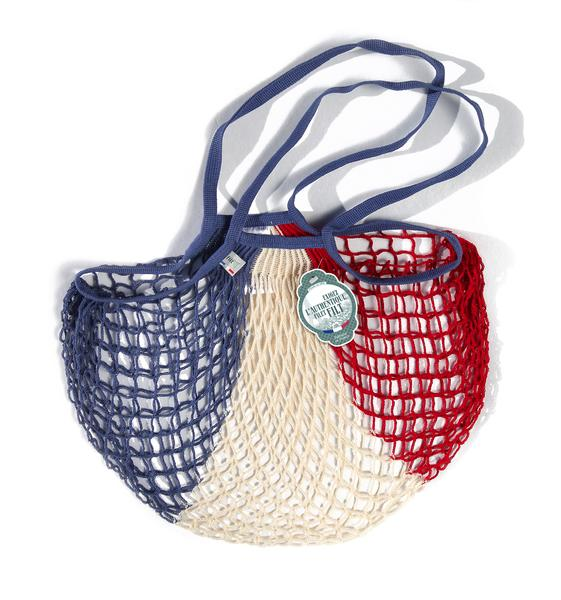 filt, bag, grocery bag, red white and blue bag, french bag, made in france,