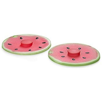Silicon Watermelon Drink Cover, set of two