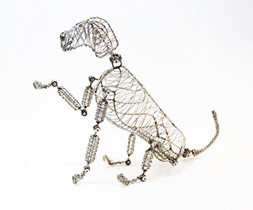 rover doodle dog, pet lovers, pet lovers gift, dog lovers, dog lovers gift, doodle dog, wire dog, metal dog