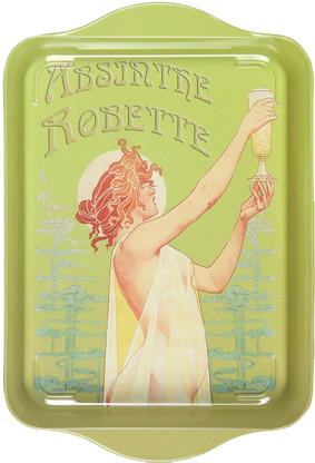 Absinthe Robette Mini Metal Tray