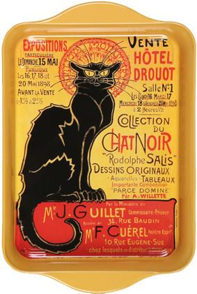 Le Chat Noir Drouot Mini Metal Tray