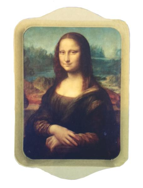 Mona Lisa Mini Metal Tray