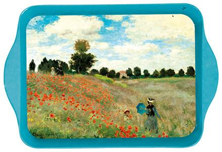 Monet Poppies Mini Metal Tray