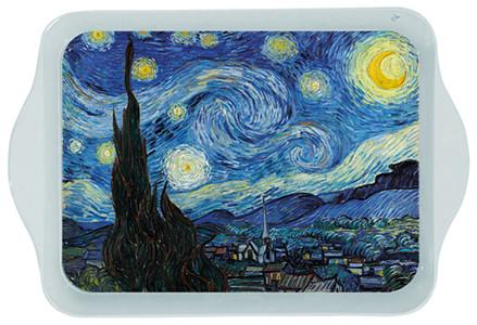 Van Gogh Starry Night Mini Metal Tray
