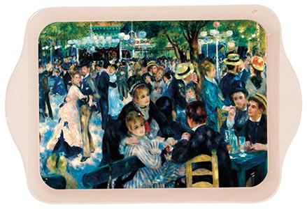 Renoir Ball at the Moulin Galette Mini Metal Tray