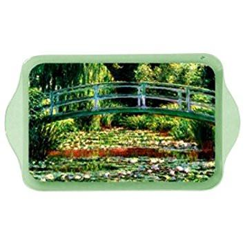 Monet Japanese Footbridge Mini Metal Tray