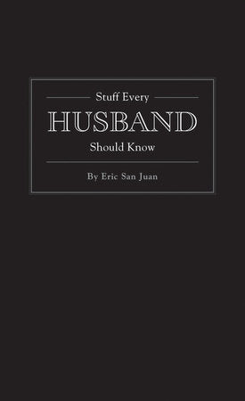 wedding gift, groom gift, husband gift, stuff every husband should know, wedding book,