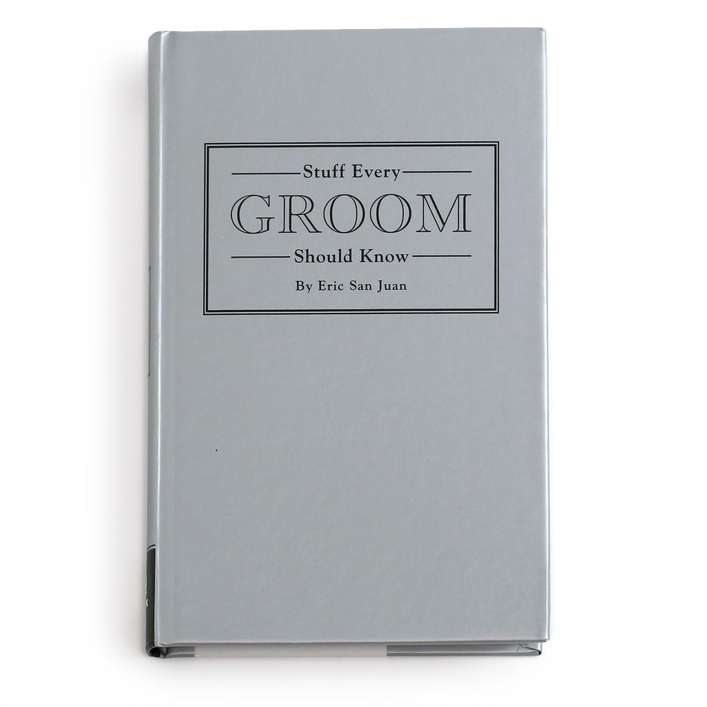 groom gift, wedding gift, stuff every groom should know, wedding book,