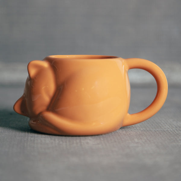 mug, cat mug, cat lover, cat lover gift, pet lover, pet lover gift, orange mug,