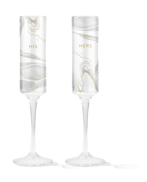 champagne glasses, paired champagne glasses, his and her champagne glasses, wedding gift, engagement gift
