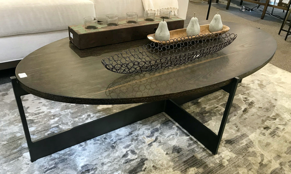 SALE!  Oval Coffee Table
