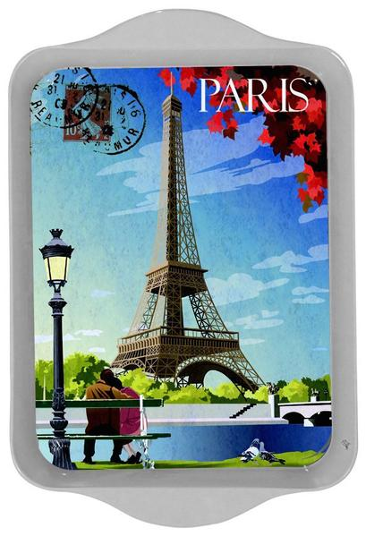 Paris Seine Mini Metal Tray